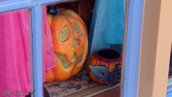 Disneyland, Main Street U.S.A., Halloween, Pumpkins
