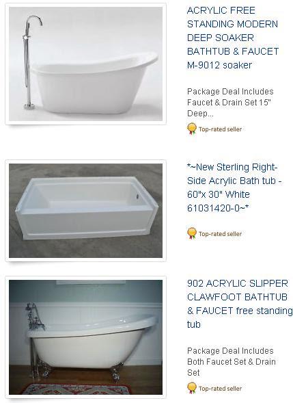 Kohler Jacuzzi Bath Parts 1004168 Kansas Oak Hill 6 Foot Cast