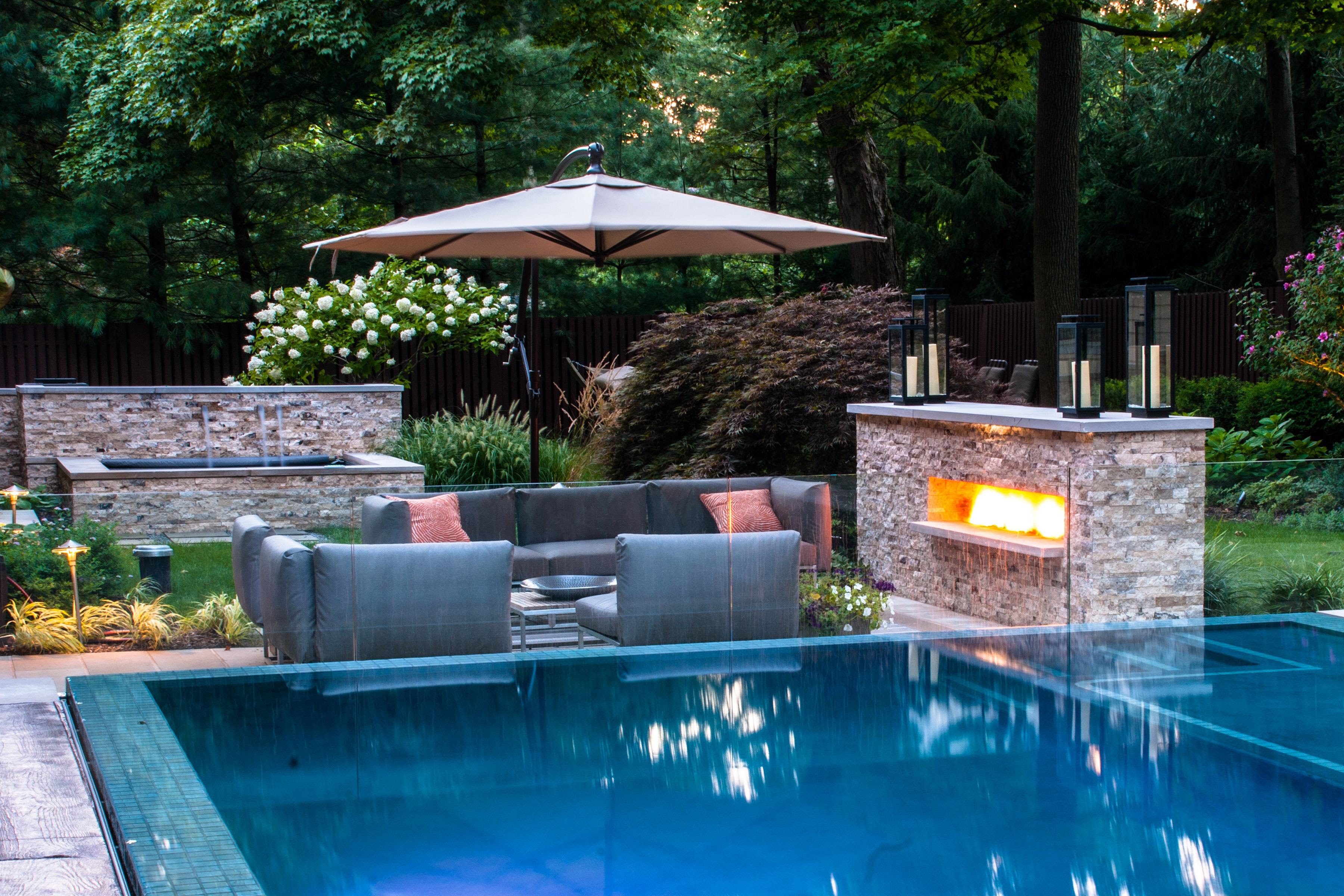 pool landscaping designs ~ Home Landscaping Ideas