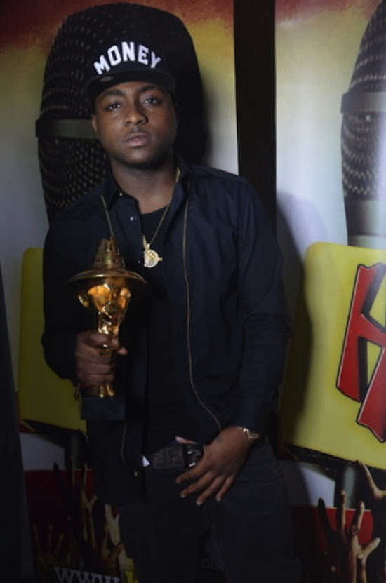 The Headies 2013 Davido Photos: Olamide Dominates 2013 HEADIES Awards With 3 Wins + Full List of All Winners