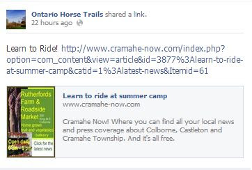 ontario horse trails, learn to ride