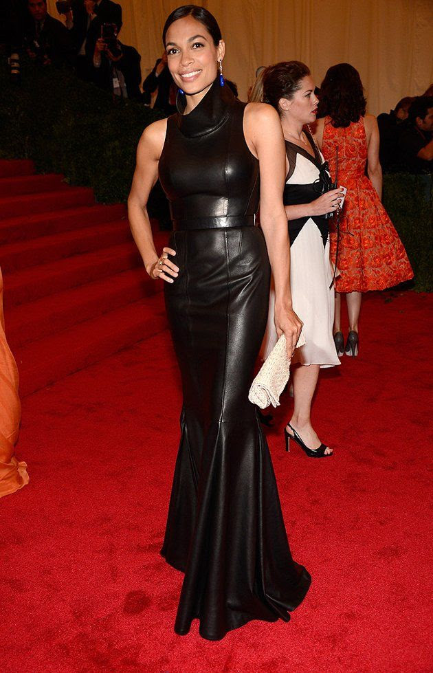 Costume Institute Gala Met Ball - May 7, 2012, Rosario Dawson