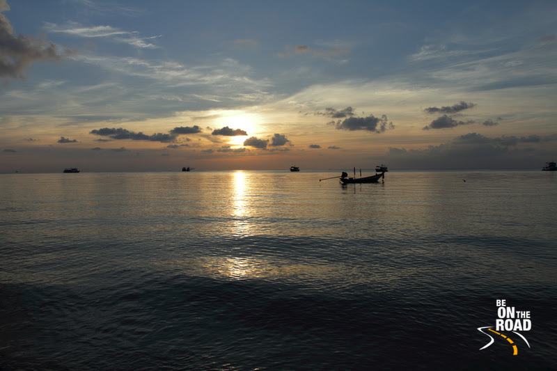 Evening Moment at Sairee Beach, Koh Tao
