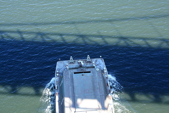 tug & barge from st. johns bridge