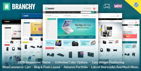 BRANCHY – WOOCOMMERCE RESPONSIVE THEME (WOOCOMMERCE)