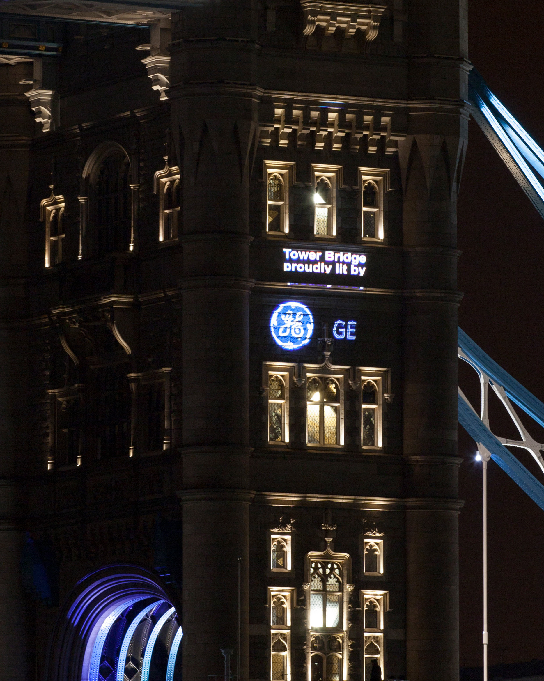 GE and EDF Light London Tower Bridge The Inspiration Room