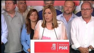 Susana Díaz demana que el PSOE actuï en conseqüència després dels resultats electorals
