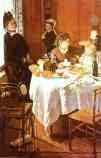 Claude Monet.  O almoço.