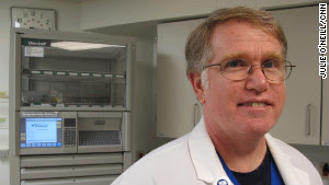 Terry King developed the drug regiment for babies with neonatal abstinence syndrome.