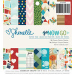 American Crafts - Go Now Go Collection - 6 x 6 Paper Pad