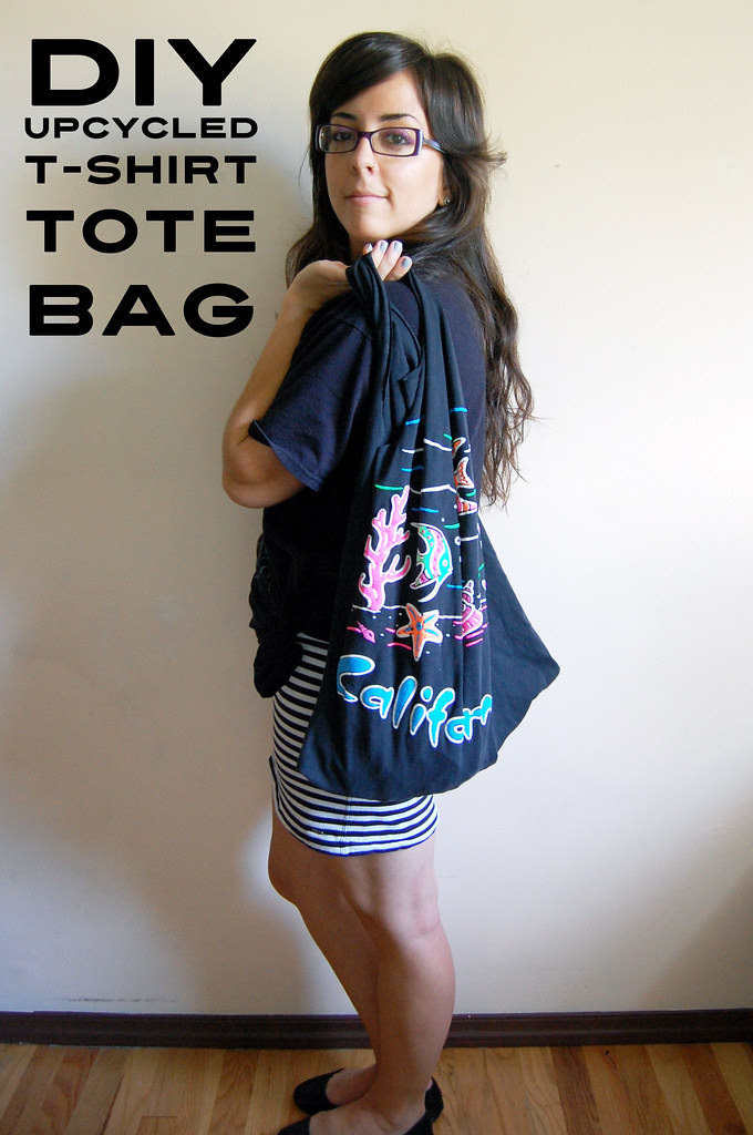 Upcycled T-Shirt Tote Bag DIY