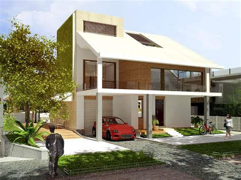 house simple modern house architecture concept design