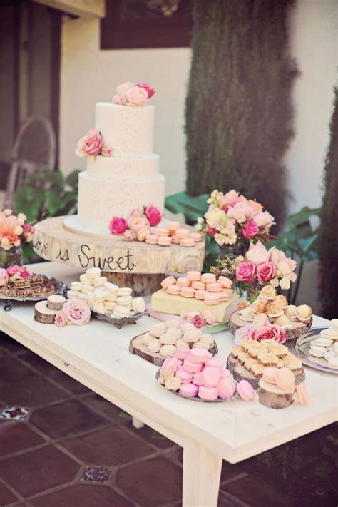 25  best ideas about Dessert Buffet on Pinterest   Wedding