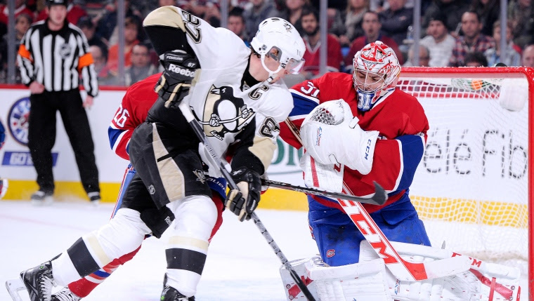 Sidney Crosby et Carey Price