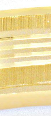 Originalfoto ARMREIF GELBGOLD, DIAMANTSCHNITT-MUSTER, 14K/585 LUXUS!