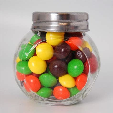 Personalized Wedding Mini Candy Jar Favor