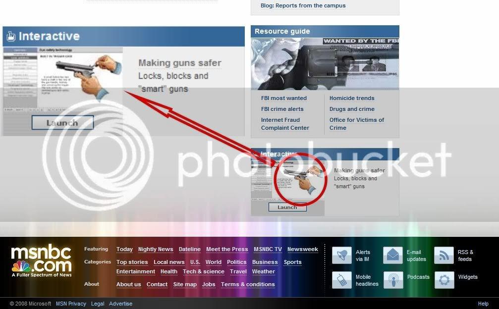 Gun Safety, MSNBC style