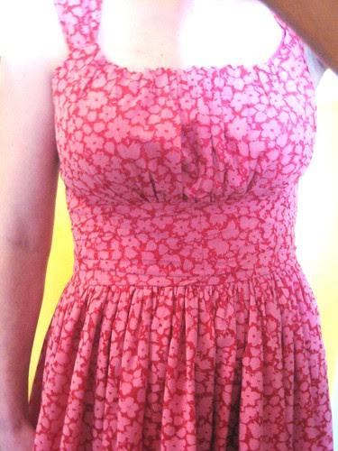 Sis Boom Jamie dress bodice