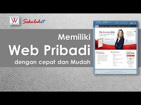 [Video Pembelajaran] Memiliki Website Pribadi dengan Cepat dan Mudah