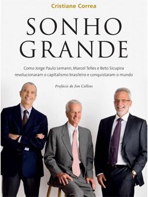 Capa do livro Sonho Grande (Foto: Divulgação)