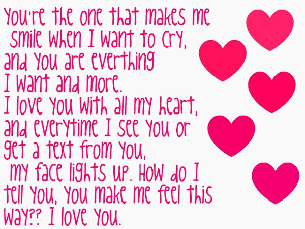 SHORT I LOVE YOU QUOTES FOR YOUR BOYFRIEND image quotes at ...