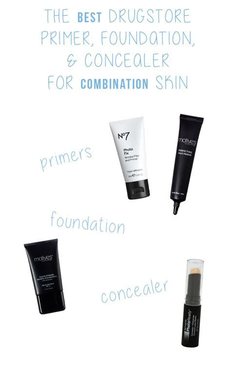 The best drugstore primer, foundation, and concealer for