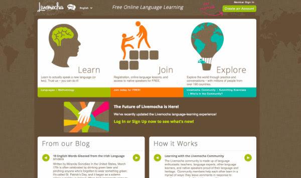 Imparare le lingue online