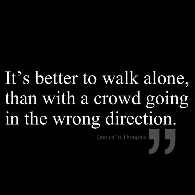 Quotes About Alone In A Crowd 48 Quotes