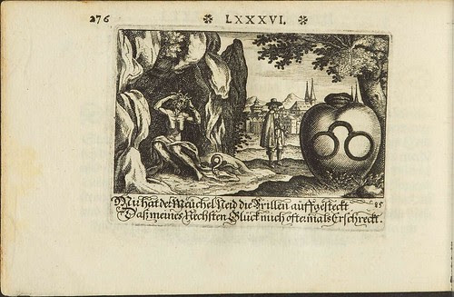 Stechbüchlein - Harsdörffer emblem book- 00366