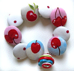 cherry on the top bracelet