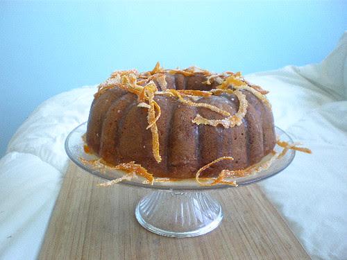 Orange Carrot Bundt cake
