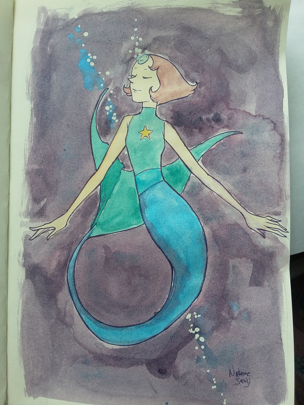 Shine Pearl for mermay