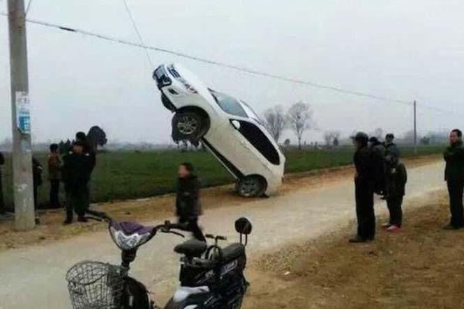 Οχήματα σε απίθανα Fails (24)