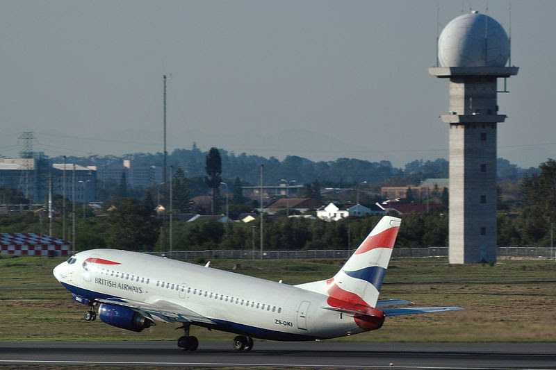 BA Comair Boeing 737-300 in Cape Town