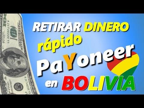 Payoneer Bolivia: Cómo RETIRAR DINERO por CAJERO automático BNB