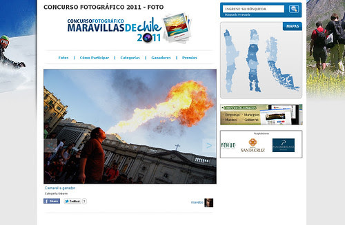 Ganador categoria urbana concurso Chileturcopec 2011, mes Noviembre. by Alejandro Bonilla