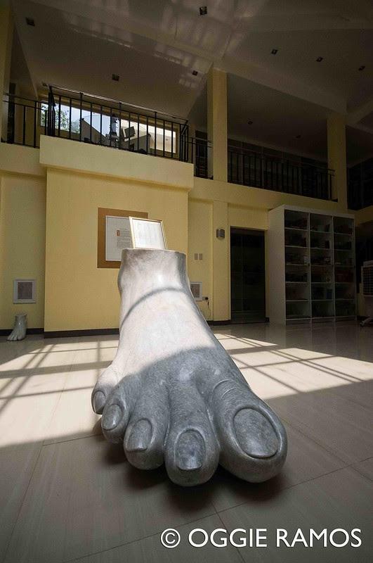 Marikina Book Museum Giant Foot Ultrawide