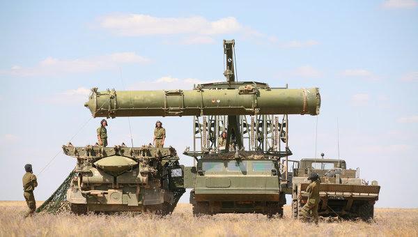 Misiles antiaéreos S-300VM