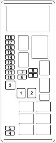 Mitsubishi L200 2005 2015 Fuse Box Diagram Auto Genius