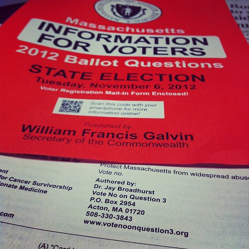 I LOVE this. Mass Information for voters. http://votenoonquestion3.org by stevegarfield