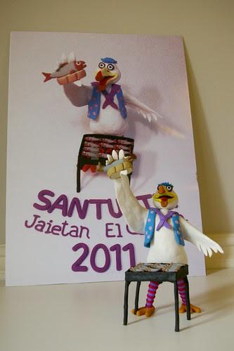 Cartel Fiestas de El Carmen 2011