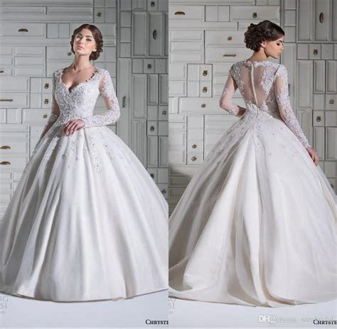 Modest Ball Gown Wedding Dresses Middle East Country