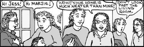 Home Spun comic strip #714