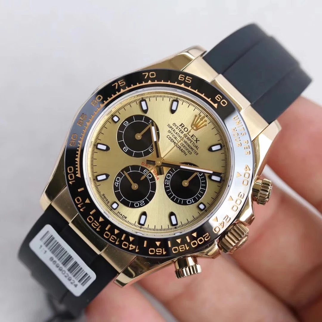 Replica Rolex Daytona Gold Watch
