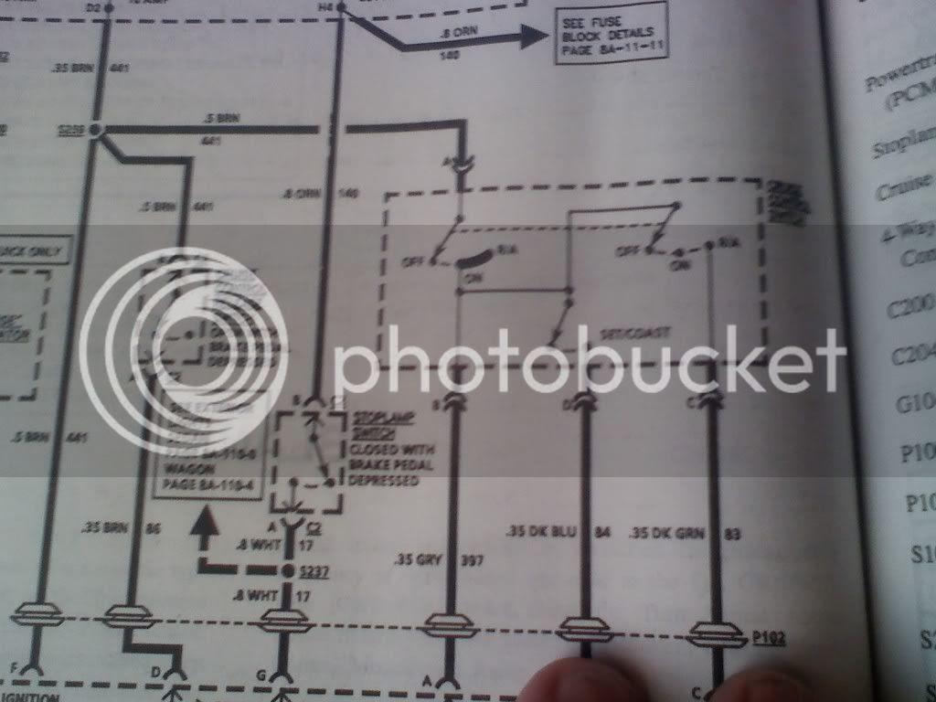Need cruise control wiring diagram - El Camino Central ...
