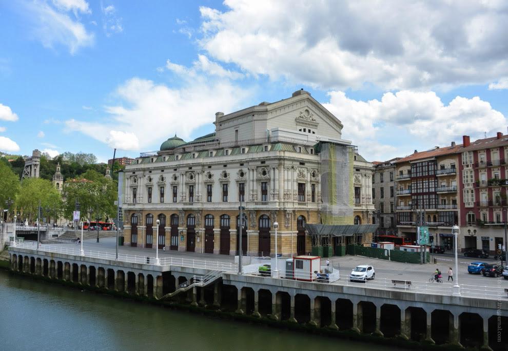 театра Аррьяга (Arriaga) — главную театральную площадку страны Басков