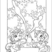 Dibujos My Little Pony Para Colorear