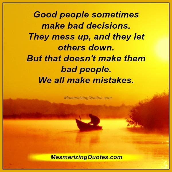 We All Make Mistakes In Life Mesmerizing Quotes
