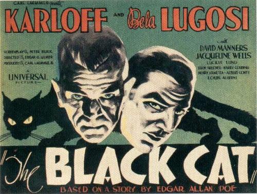 film poster: The Black Cat