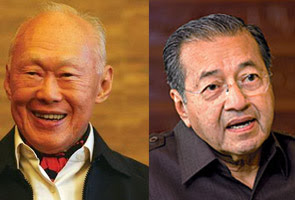 Tun Mahathir: Former Singapore premier is old
